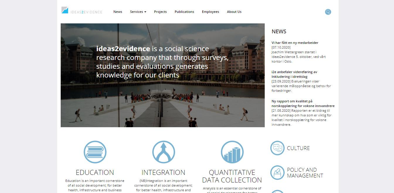 Ideas2Evidence
