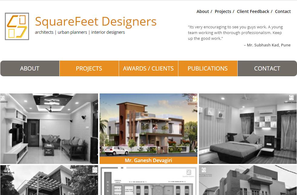 SquareFeet Designers
